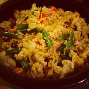 skinnymixer's Vegetarian Biryani