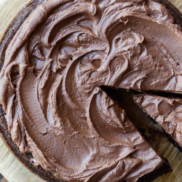Gluten Free Paleo Chocolate Cake