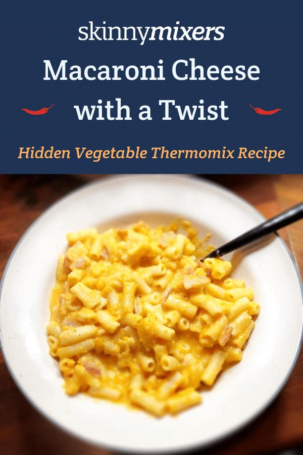 Hidden Vegetable Macaroni Cheese Thermomix Recipe