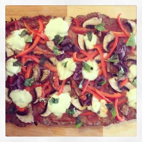 skinnymixer's Meatza Slice