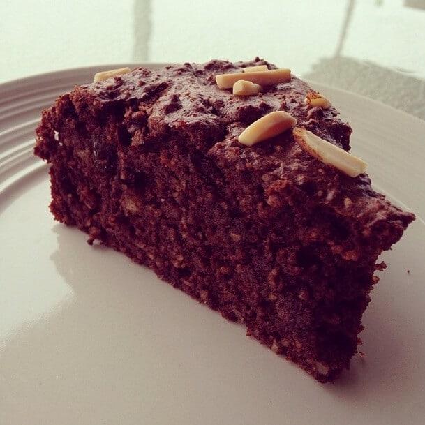 skinnymixer's Paleo Chocolate Christmas Cake