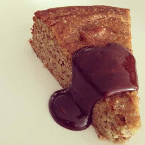 skinnymixer's Paleo Eggplant Cake