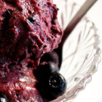 skinnymixer's Instant Dairy Free Blueberry Icecream