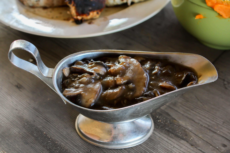 skinnymixer's Mushroom Gravy