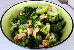 skinnymixer's Chilli Lime Chicken Stirfry
