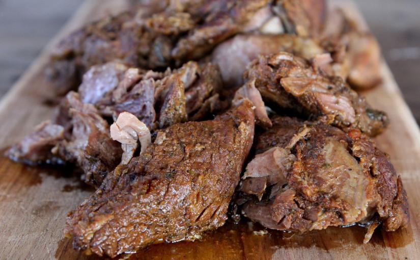 skinnymixer's Slow Cooked Greek Lamb - skinnymixers