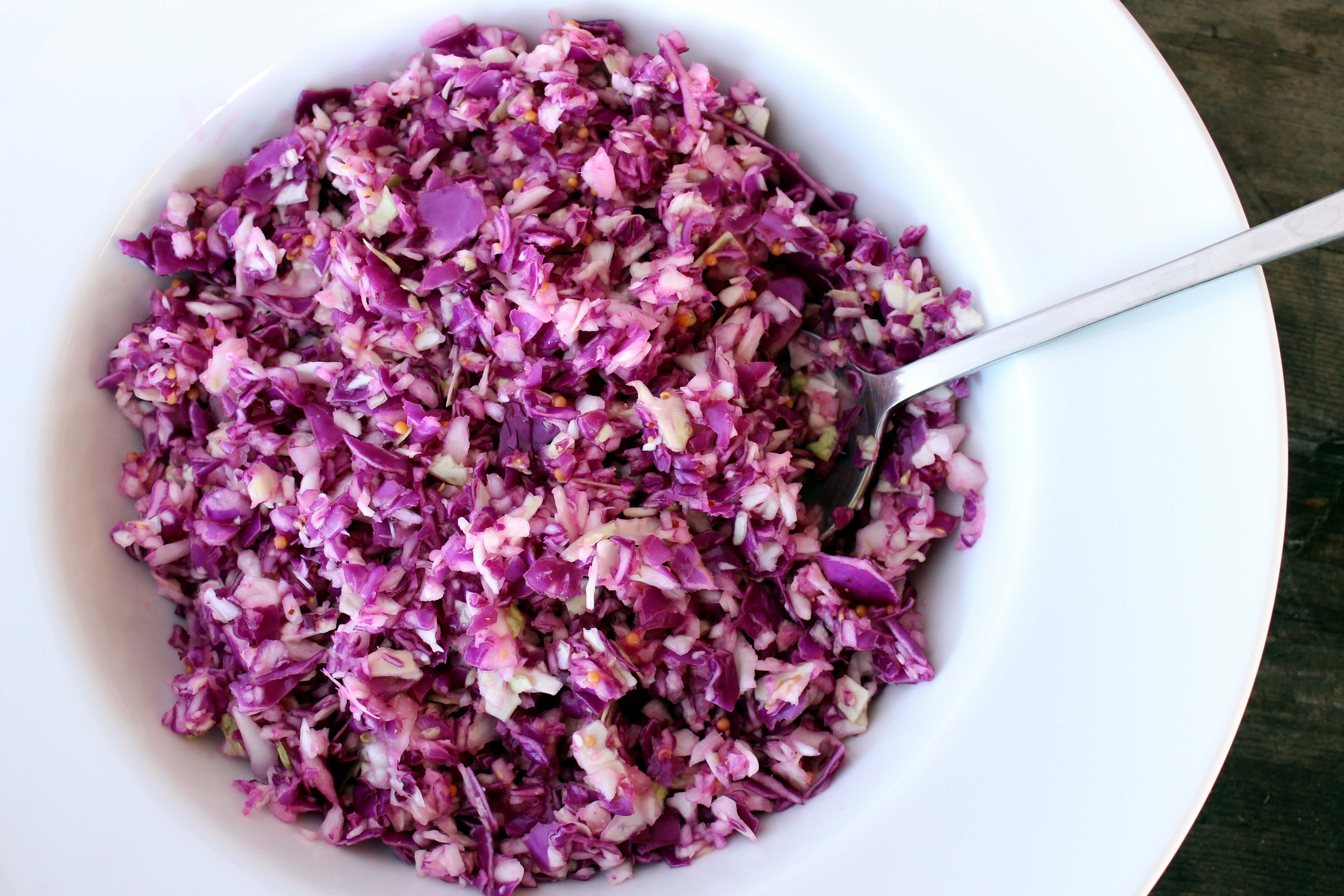 skinnymixer's Super Skinny Cabbage Salad