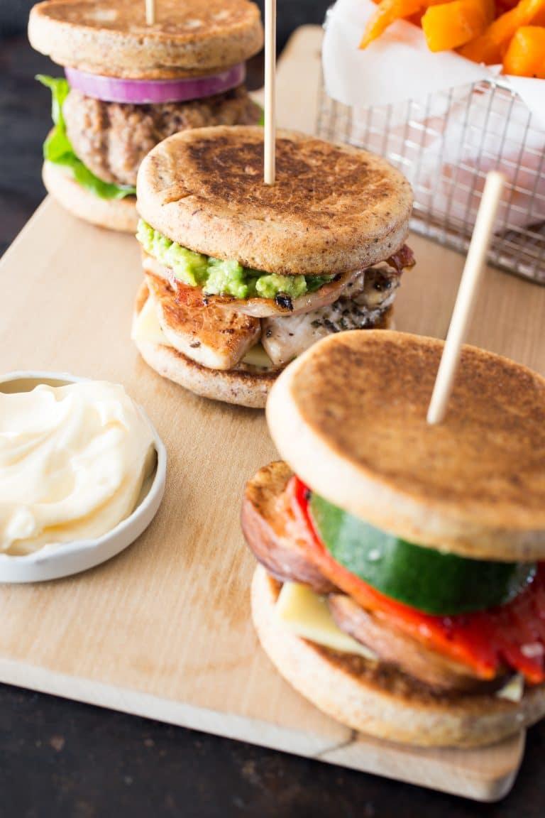 Keto Burger Buns Thermomix Recipe