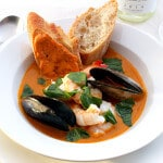 skinnymixer's Seafood Bisque with Rouille
