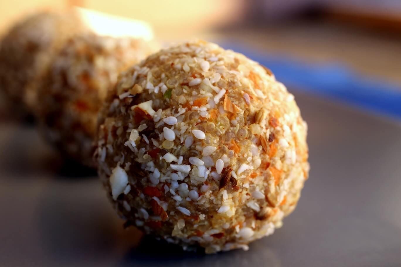 Vegan Dukkah Balls