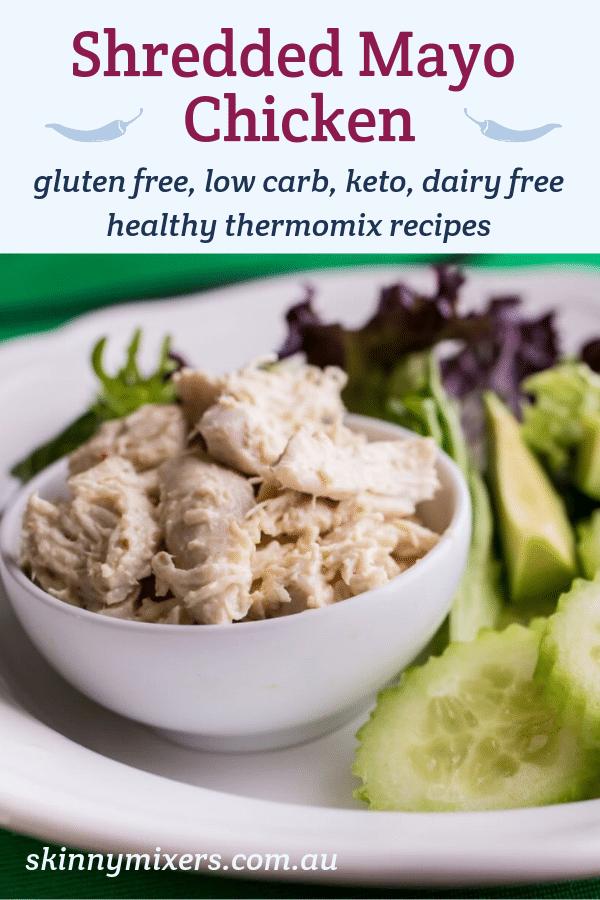 Shredded Mayo Chicken Thermomix Recipe