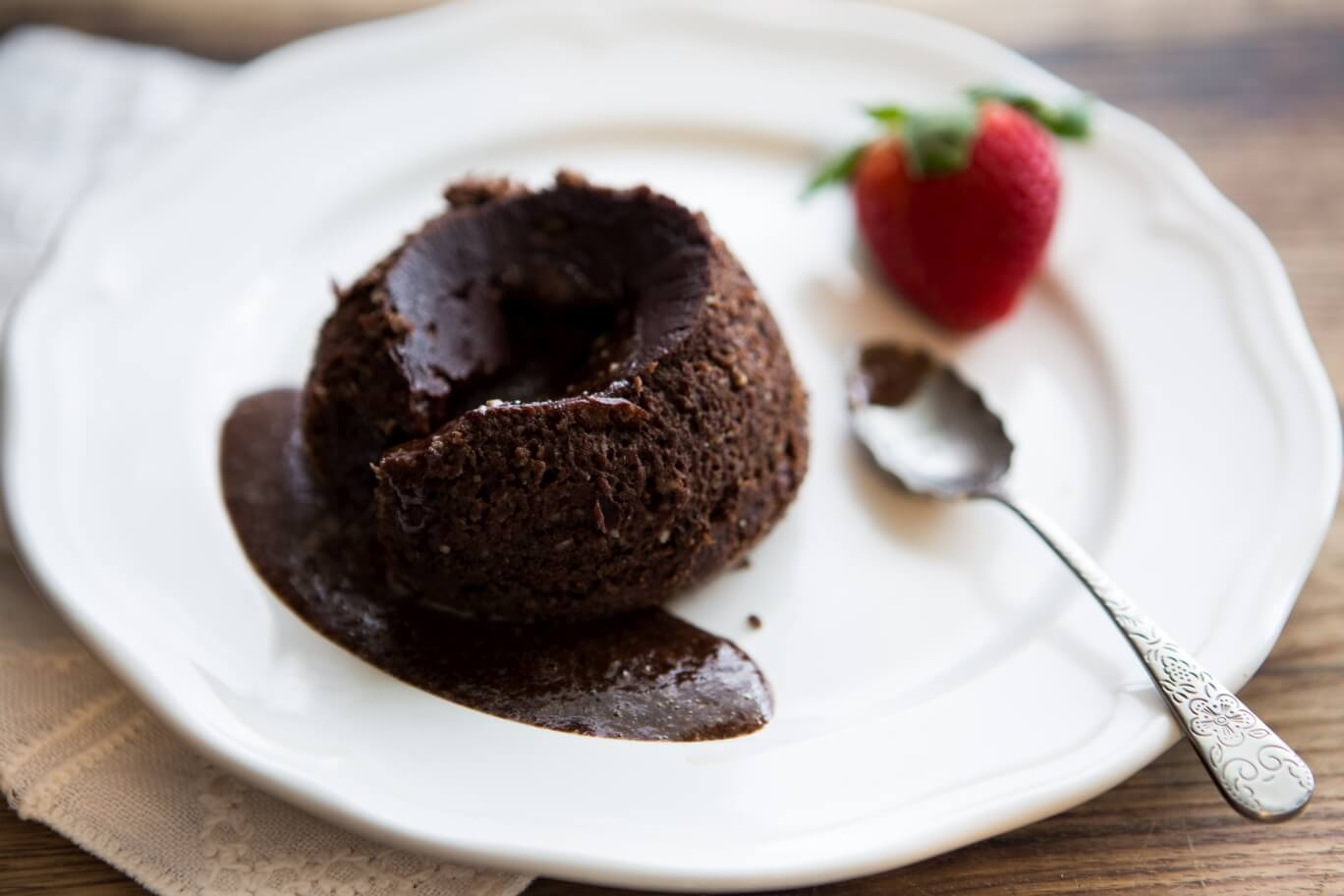 Healthy Thermomix Recipes Chocolate Fondant