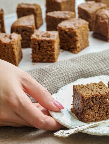 Paleo Gingerbread Cake Thermomix