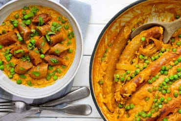 Coconut Curried Sausage Thermomix Rice