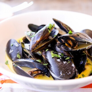 skinnymixer's LCHF French Mussels