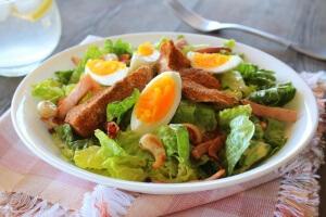 Thermomix Chicken Caesar Salad