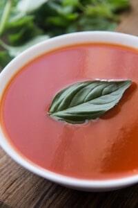 Thermomix no fat tomato soup