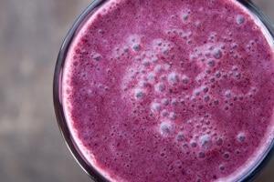 Thermomix Blueberry Protein Smoothie