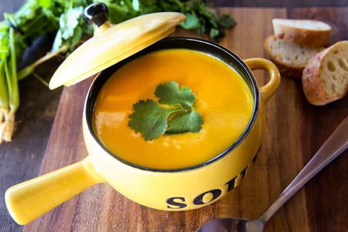 skinnymixer's Pumpkin Soup