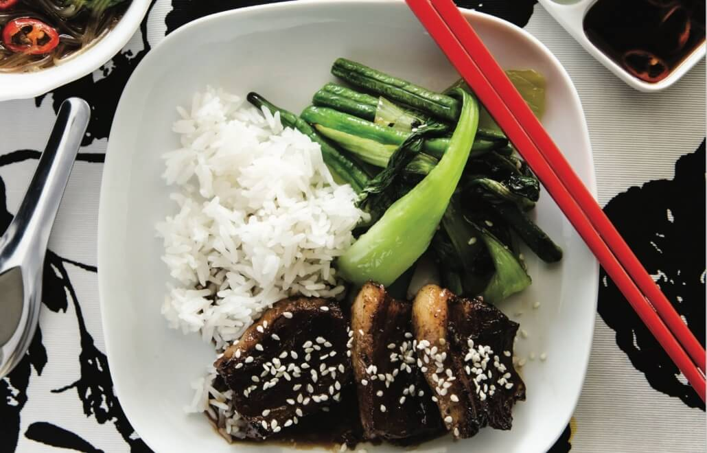 sticky asian pork thermomix