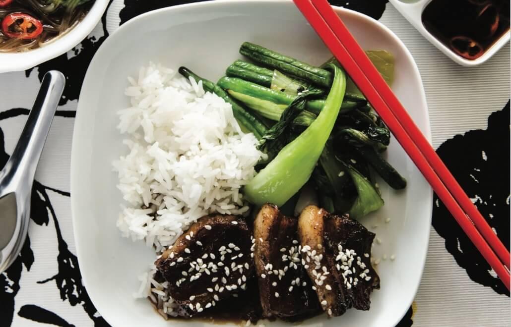 sticky asian pork thermomix