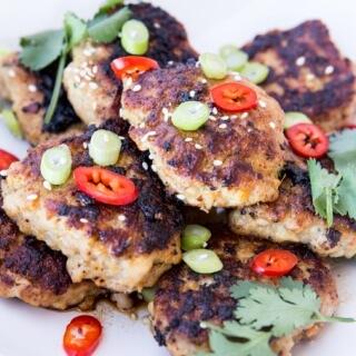 THM: Chicken Teriyaki Burger Patties