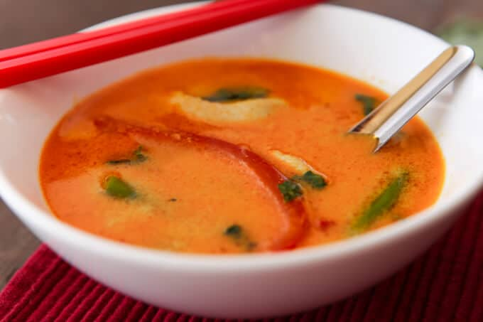 Thermomix Thai Red Curry Recipe