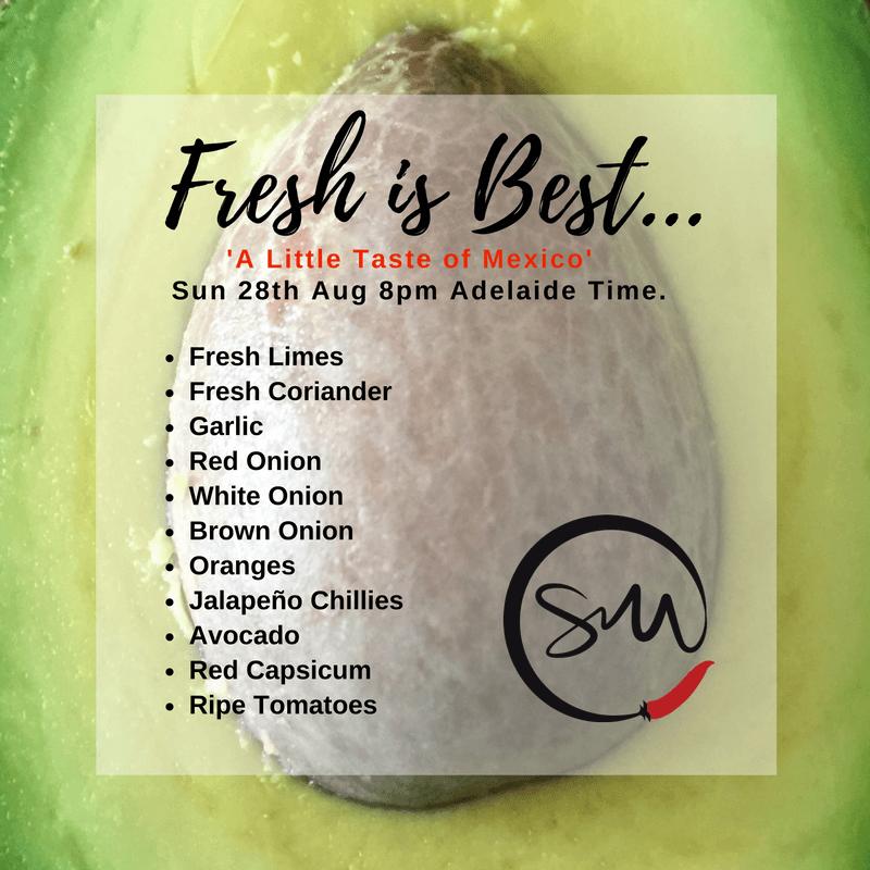 Fresh ALToM Ingredients