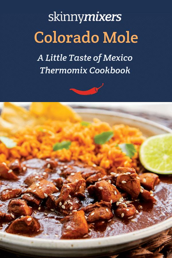 Colorado Mole Thermomix Recipe