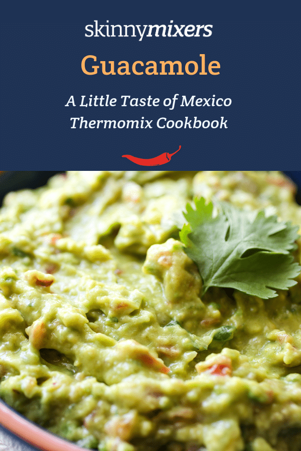 Guacamole Thermomix Recipe from Skinnymixers