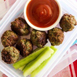 skinnymixer's Lunchbox Meatballs