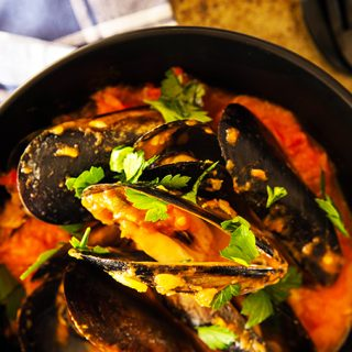 Chilli Mussels Thermomix Recipe