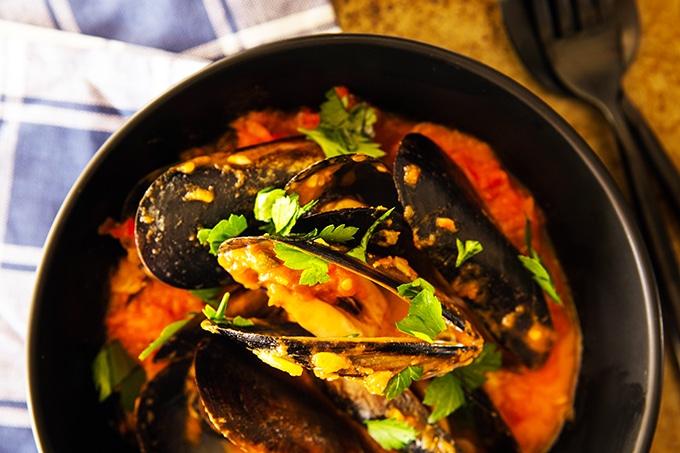 Chilli Mussels Thermomix Recipe