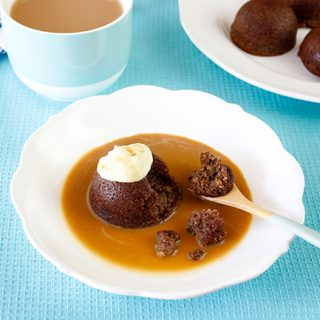 skinnymixer's Sticky Date Pudding with Caramel Sauce
