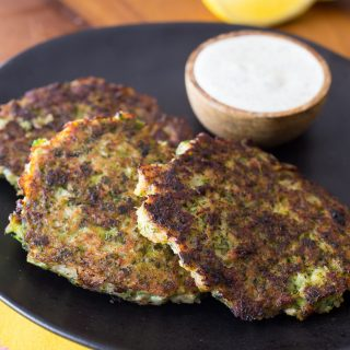 THMII: Bacon & Broccoli Fritters with Ranch Sauce