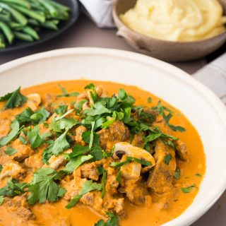 Thermomix Beef stroganoff Recipe