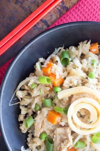 Thermomix Cauliflower Fried Rice