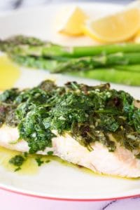 Thermomix Chimichurri Salmon