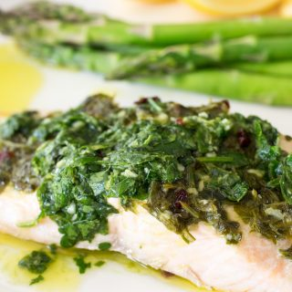 THMII: Chimichurri Salmon