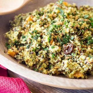 THMII: Moroccan Quinoa Salad