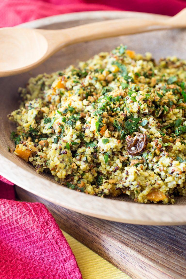 Thermomix quinoa salad