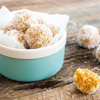 Guest Recipe: Katie's Apricot Coconut Balls