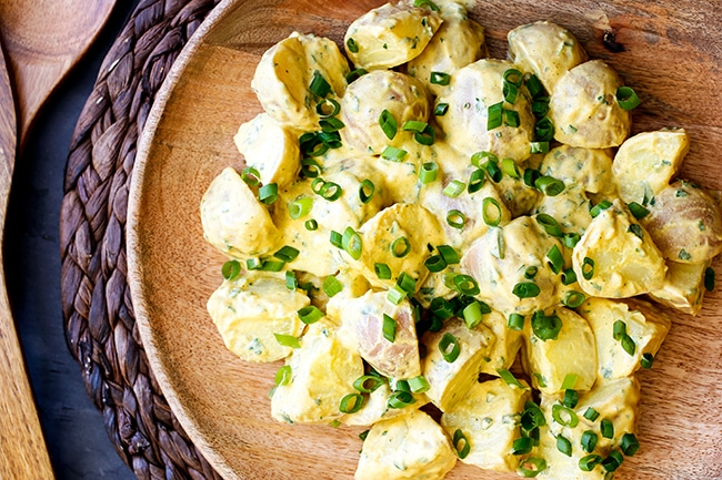 Bombay Potato Salad Recipe