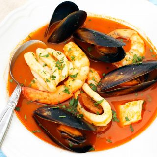 Seafood recipe thermomix