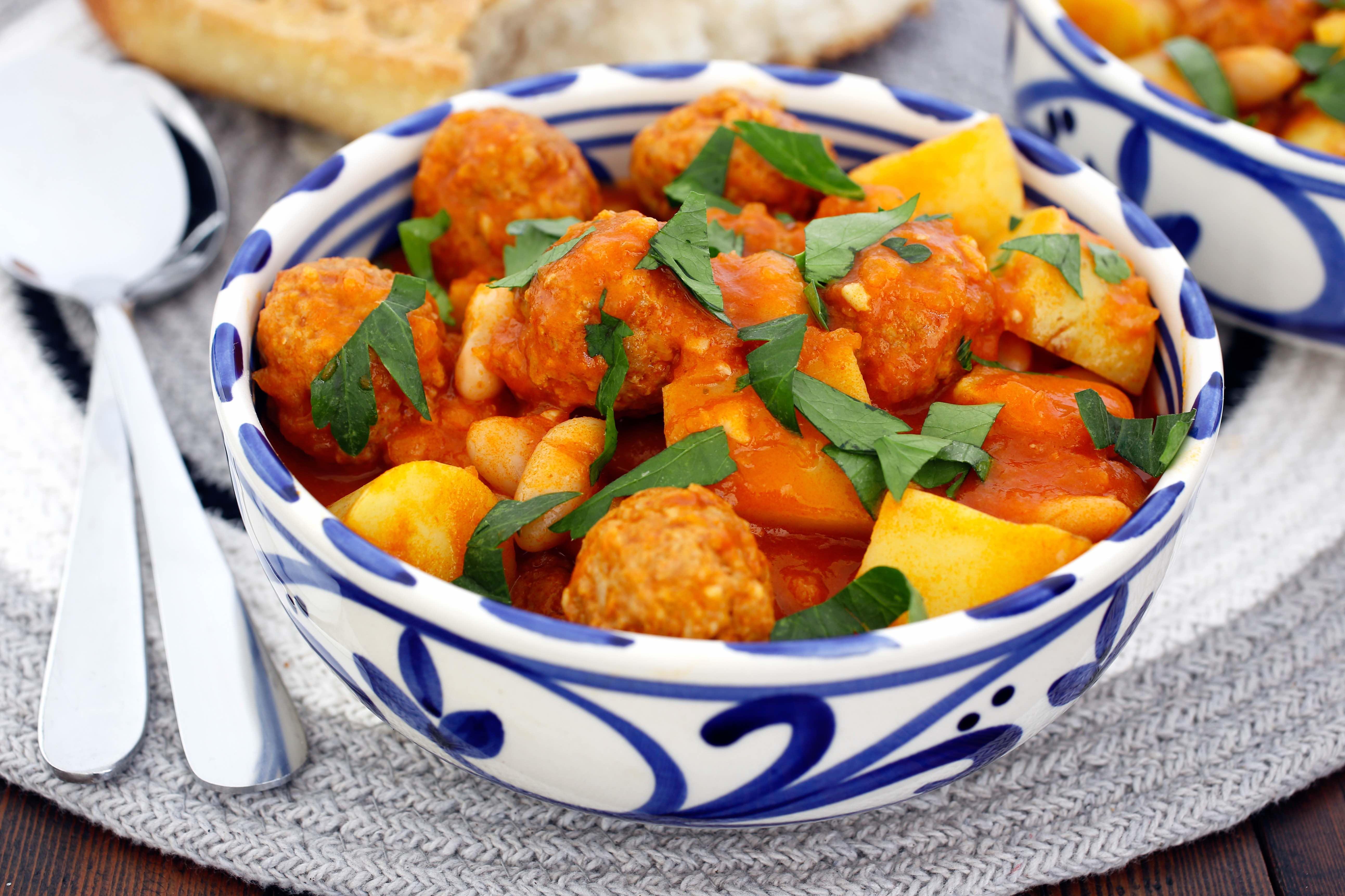 Chorizo Potato Stew Thermomix Recipe