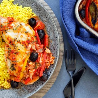 Chicken Tray Bake Thermomix Recipe