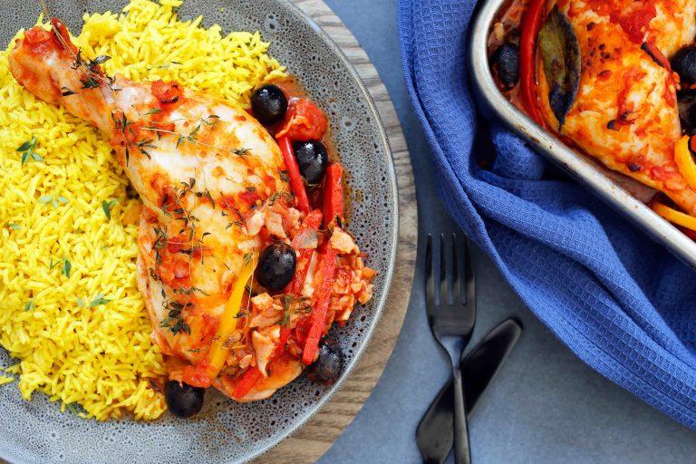 Chicken Tray Bake Thermomix Recipe
