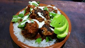 Thermomix Low Carb Mexican Meatballs