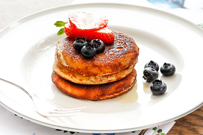 Almond pancakes Thermomix