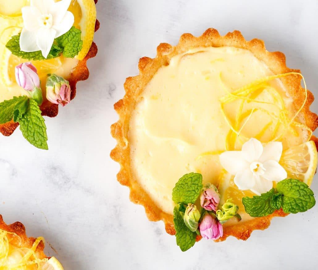 Healthy Lemon Tart